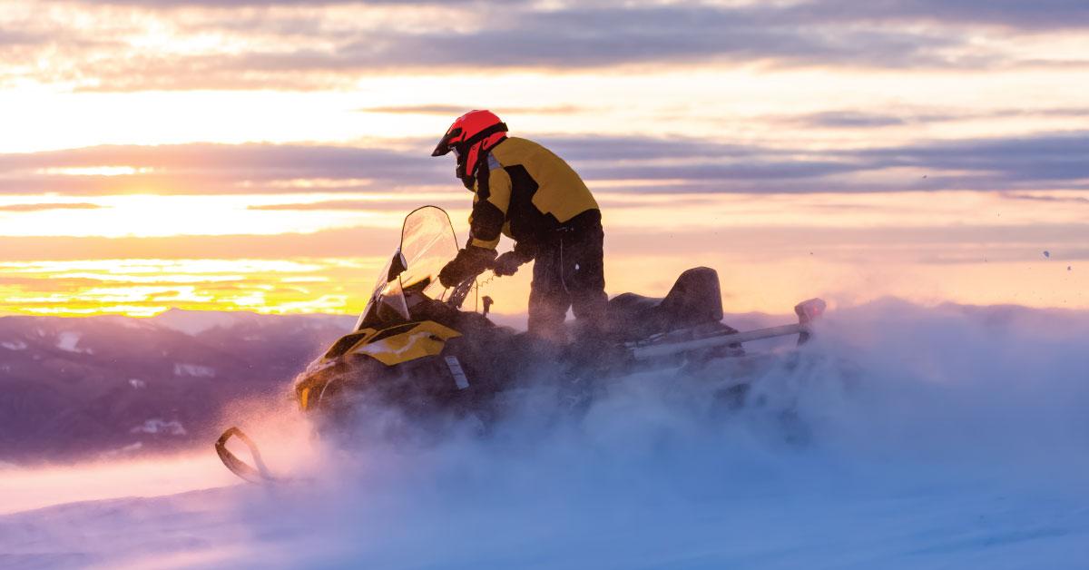 La motoneige : invitation à la prudence