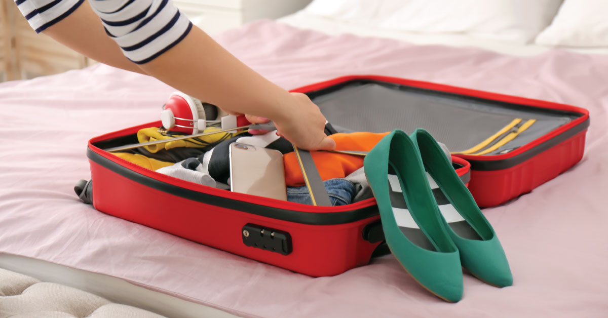 Bien faire sa valise, un art à la portée de tous