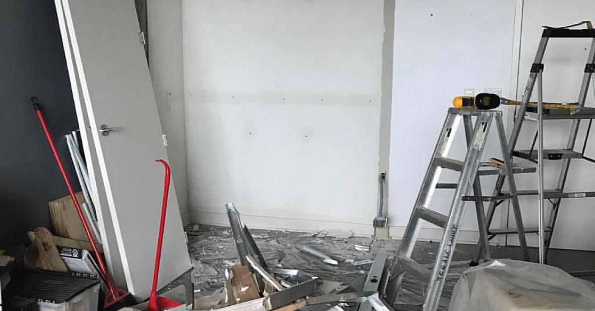 Vous rénovez votre demeure? N'oubliez surtout pas d'en aviser votre assureur!