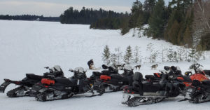 The snowmobile and its dangers