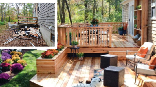 Transform your backyard