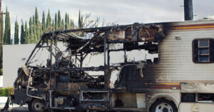 The causes of fire in an RV